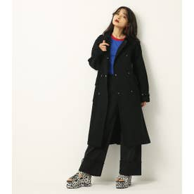 BIG POCKET SPRING COAT BLK