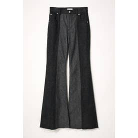 SHELL FLARE DENIM BLK