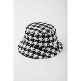HOUNDSTOOTH CHECK  BUCKET HAT M/BLK7
