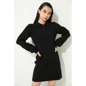 POLO KNIT MINI OP BLK