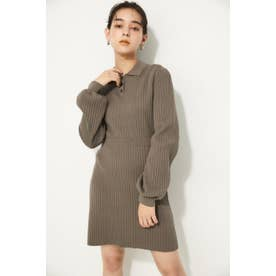 POLO KNIT MINI OP BEG