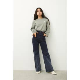 BURNET FLARE DENIM NVY