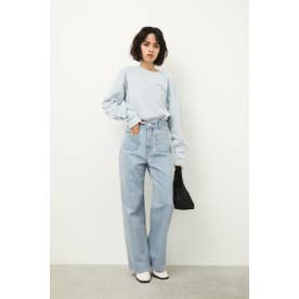 HEATH FLARE DENIM L/BLU1