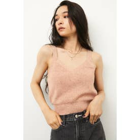 MIX COLOR KNIT CAMI ORG