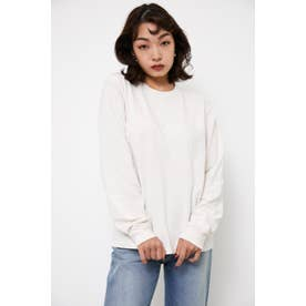 SIMPLE EMBROIDERY L/T WHT