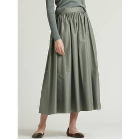 エアリーギャザースカート (グリーン)