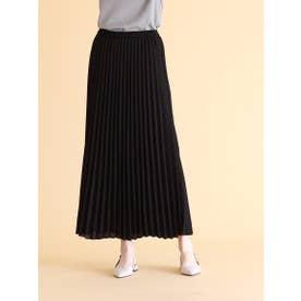 エアリーアコーディオンプリーツスカート (ブラック)