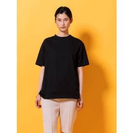 ハイゲージビッグTシャツ (ブラック)