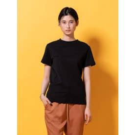 ソフトコットンコンパクトTシャツ (ブラック)