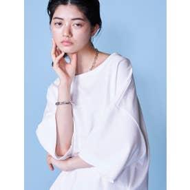 サイドスリットジャージTシャツ (ホワイト)