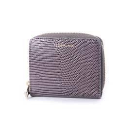 レザー二つ折り財布 (ミラノグレー)