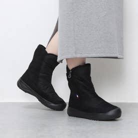 【レイン対応】アイスバーン対応ミドル丈ブーツ(ラルシュMID/LARCHE MID) (ブラック)