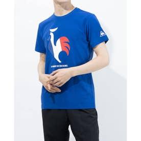 メンズ 半袖Tシャツ ハンソデシヤツ QMMRJA02 (ブルー)