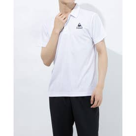 メンズ 半袖ポロシャツ エリツキハンソデシャツ QMMPJA71ZZ (ホワイト)