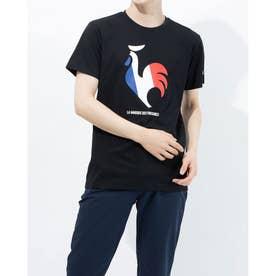 メンズ 半袖Tシャツ ハンソデシヤツ QMMRJA02 (ブラック)