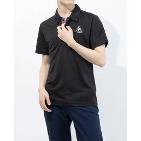 メンズ 半袖ポロシャツ エリツキハンソデシャツ QMMPJA71ZZ (ブラック)