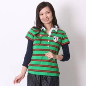 ゴルフシャツ  LC QGL2596CPRY  グリーン (グリーン)