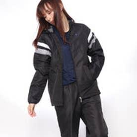 レディース 中綿ジャケット 中綿ウィンドジャケット QMWMJF26AP (ブラック)