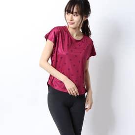 レディース 半袖機能Tシャツ 半袖シャツ(ドット) QMWPJA01EL