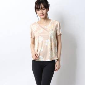 レディース 半袖機能Tシャツ ハンソデシャツ(ツツジ) QMWPJA00EL