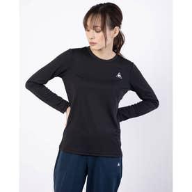 レディース 長袖機能Tシャツ ナガソデシャツ QMWPJB30ZZ (ブラック)
