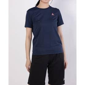 レディース 半袖機能Tシャツ ハンソデシャツ QMWPJA30ZZ (ネイビー)