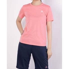 レディース 半袖機能Tシャツ ハンソデシャツ QMWPJA30ZZ (ピンク)