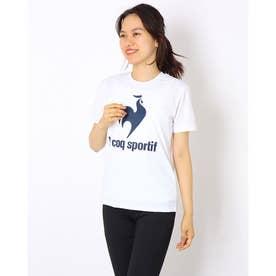 レディース 半袖機能Tシャツ ショートスリーブシャツ QMWSJA03 (ホワイト)
