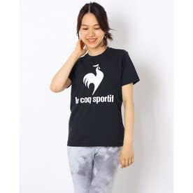 レディース 半袖機能Tシャツ ショートスリーブシャツ QMWSJA03 (ブラック)