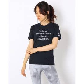 レディース 半袖機能Tシャツ ショートスリーブシャツ QMWSJA04 (ブラック)