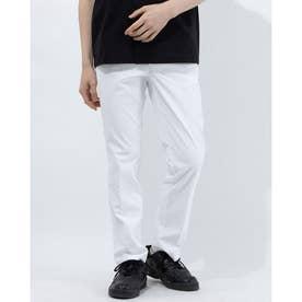 メンズ ゴルフ スラックス パンツ QGMRJD09 (ホワイト)