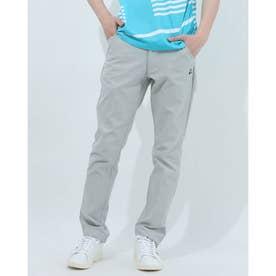 メンズ ゴルフ スラックス パンツ QGMRJD05 (グレー)