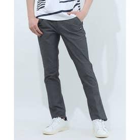 メンズ ゴルフ スラックス パンツ QGMRJD05 (ブラック)