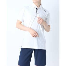 メンズ ゴルフ 半袖シャツ ハンソデシヤツ(ニツト) QGMRJA20 (ホワイト)