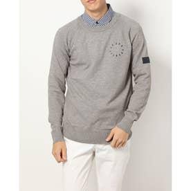 メンズ ゴルフ 長袖セーター セーター/カーデイガン QGMSJL05 (グレー)