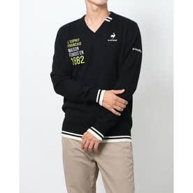 メンズ ゴルフ 長袖セーター セーター/カーデイガン QGMSJK55AP (ブラック)