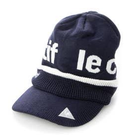 メンズ ゴルフ ニット帽子 ボウシ QGBQJC10 (ネイビー)