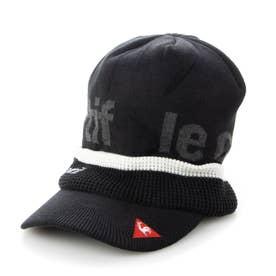 メンズ ゴルフ ニット帽子 ボウシ QGBQJC10 (ブラック)
