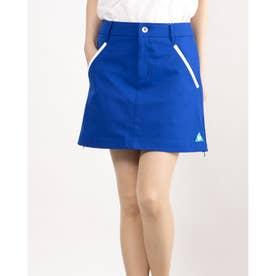 レディース ゴルフ スカート スカート QGWRJE05 (ブルー)