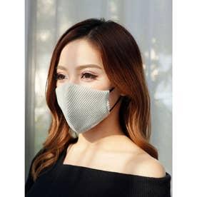 バイカラーテレコ冷感マスク(2枚組) (ミント)【返品不可商品】