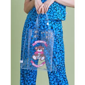 cutie bear LSB logo pvc bag (CLEAR)