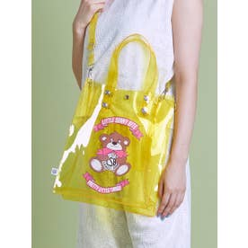 cutie bear LSB logo pvc bag (YELLOW)