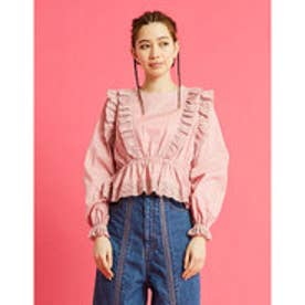 lacy blouse (PINK)