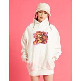 lefthand x graffiti hoodie (WHITE)
