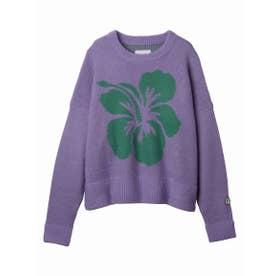 Hibiscus knit (PURPLE)