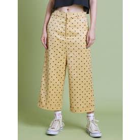 dot pants (YELLOW)