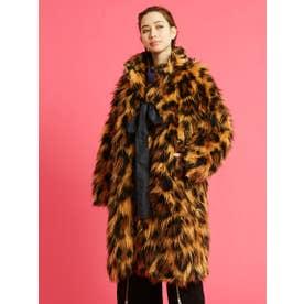 leopard fur coat (LEOPARD)