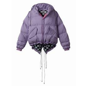 Short down jacket (PURPLE)