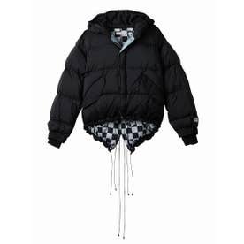 Short down jacket (BLACK)