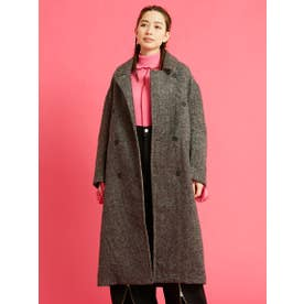 check big coat (BLACK)